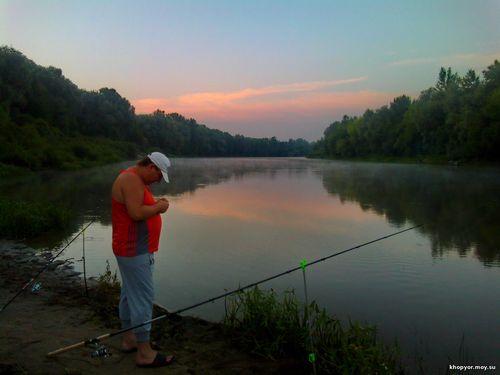 Река хопер и ловля рыбы на хопре