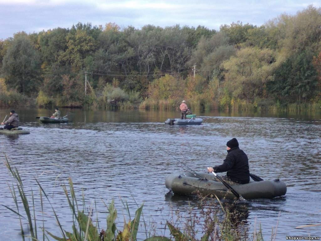 рыбалка в урюпинском районе