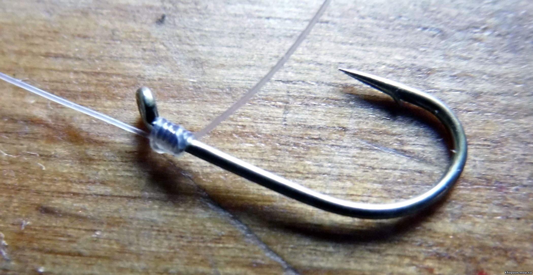 Рыболовные узлы для крючков и поводков, способы соединения 87